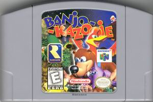 Banjo-Kazooie (USA) Cart Scan
